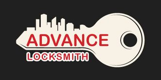 advance locksmith logo
